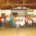 Associados da Comunidade Cooperativista de Divisa que participaram da Pré AGE no dia 30/01.