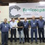 O terceiro colocado geral foi o associado Marcos Antônio de Oliveira, que terá seu lote valorizado em R$700,00 a saca