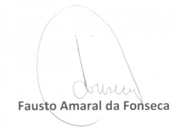 Assinatura Fausto Amaral